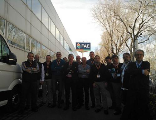 FAE abre las puertas de su fábrica 4.0. al Grupo ASER