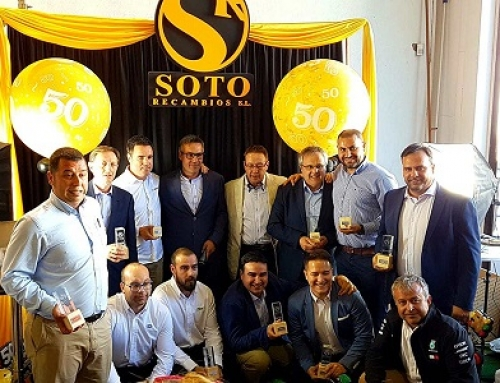 Soto Recambios celebra su 50º Aniversario