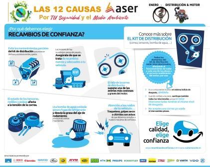 Enero – Distribución y Motor – Las 12 causas ASER