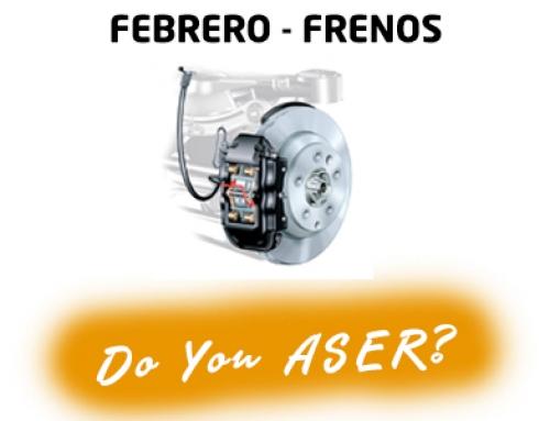 Febrero – Frenos – Las 12 causas ASER