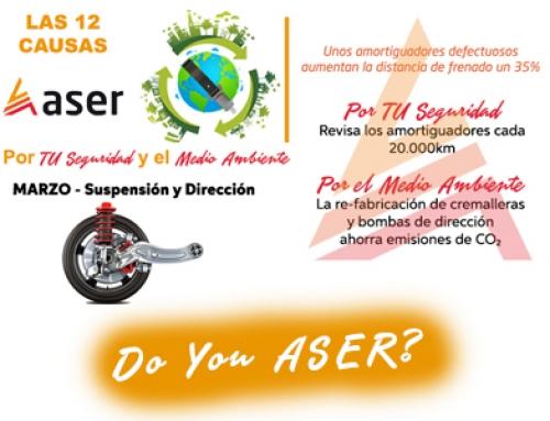 Las 12 causas ASER – Suspensión y Dirección