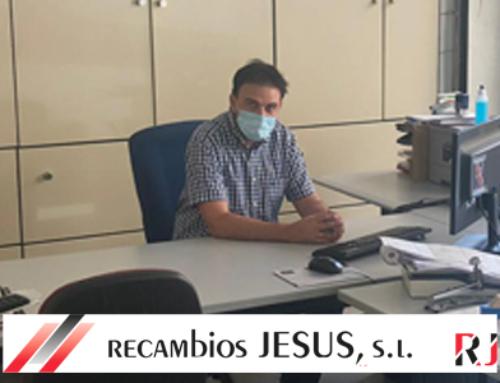 Joaquín Hernández de Recambios Jesús – Pisando fuerte
