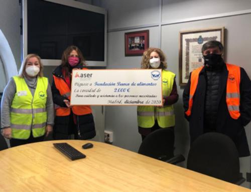 Donaciones ASER al Banco de Alimentos