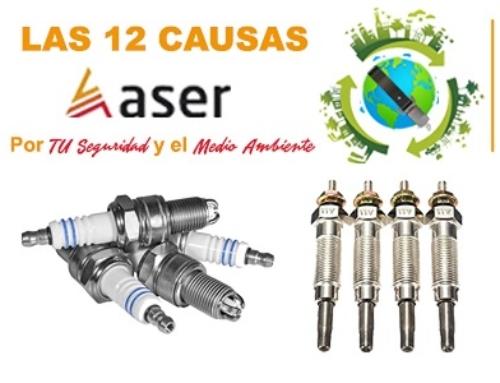 Las 12 causas ASER – Sistema de Encendido