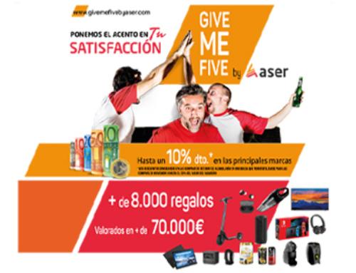 Vuelve el Give me Five by Aser