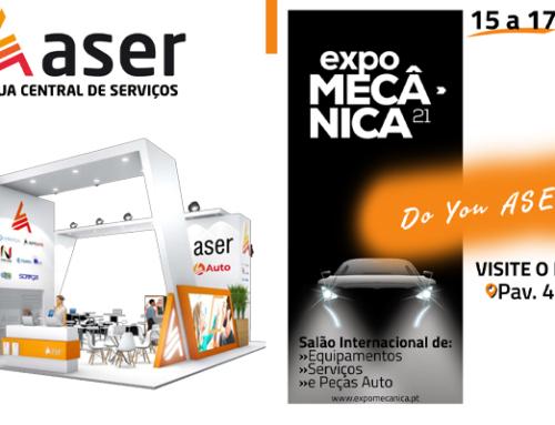 Aser presente en Expomecánica Oporto